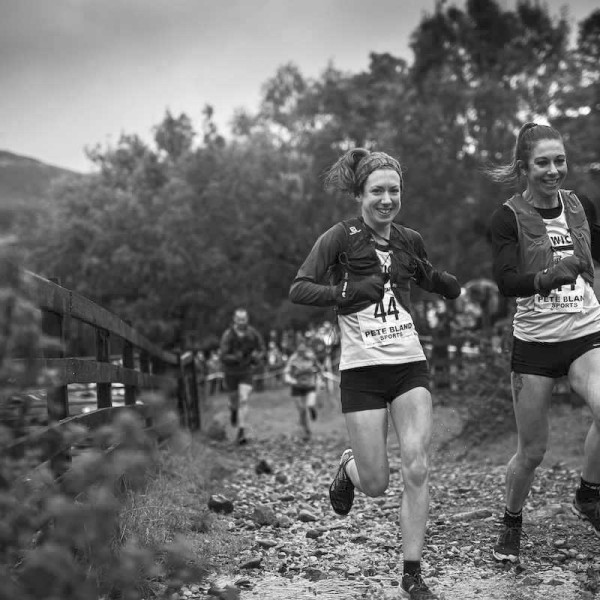Jodie & Harry compete in the Hodgson Brothers Mountain Relay